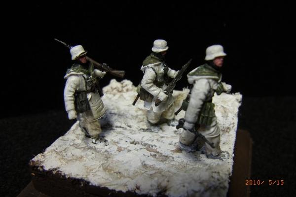 1/72 ドイツ兵(冬季装備)