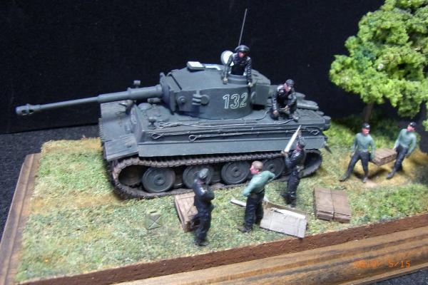 1/72 ドイツ軍TIGAR I重戦車隊
