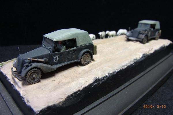 1/72 ドイツ軍幹部専用車