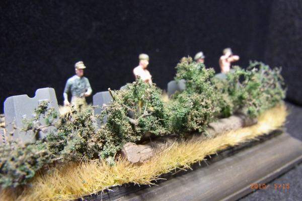 1/72 偵察中のドイツ歩兵小隊