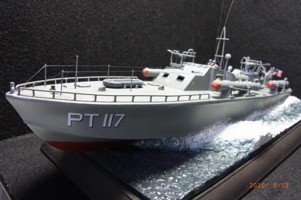 1/72 米海軍魚雷艇PT117(1)