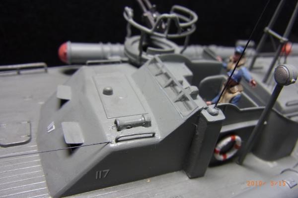 1/72 米海軍魚雷艇PT117(2)