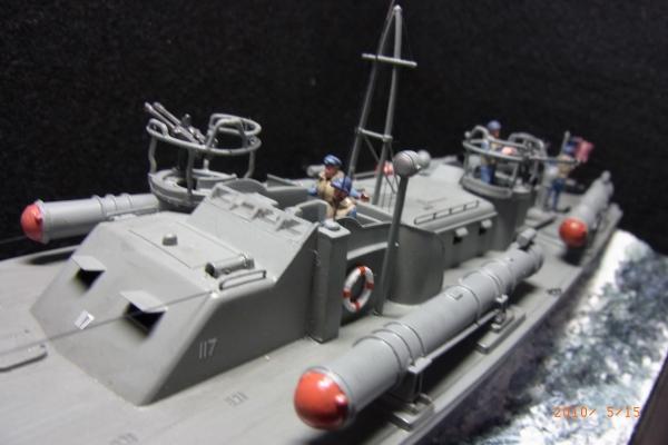 1/72 米海軍魚雷艇PT117(3)