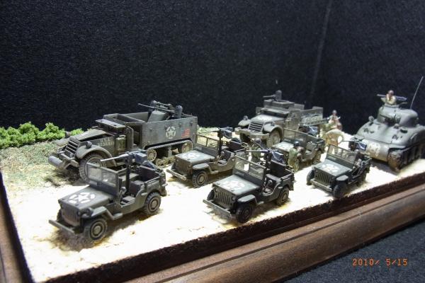 1/76 米陸軍軍用車両群