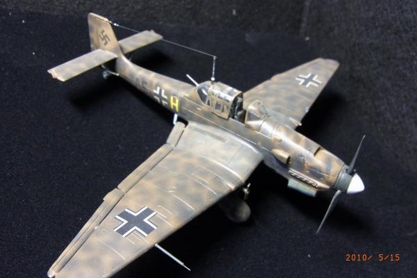 """1/72 ドイツ軍Ju-87R-2 StG.1""""STUKA"""""""