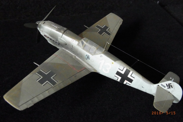 1/72 ドイツ軍Messerschmitt Bf109E-3
