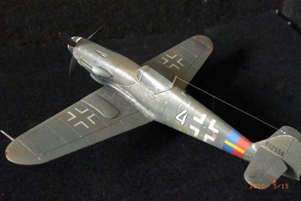 1/72 ドイツ軍Messerschmitt Bf109G-10