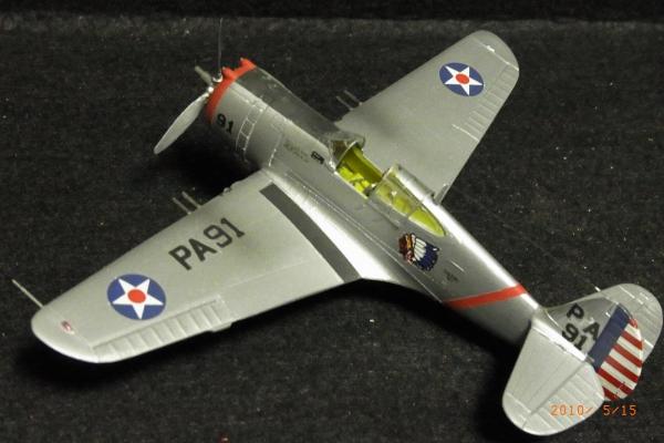 1/72 米陸軍 CURTISS P-36A