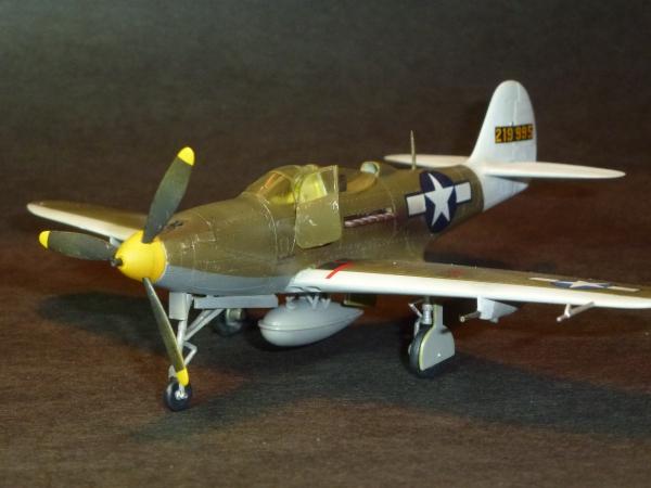 1/72 米陸軍機 P39Q Airacobra