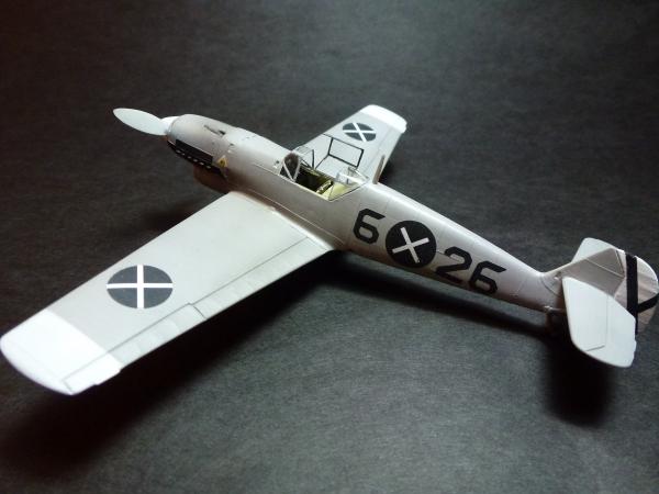 1/72 Bf109 Messerschmitt B-1