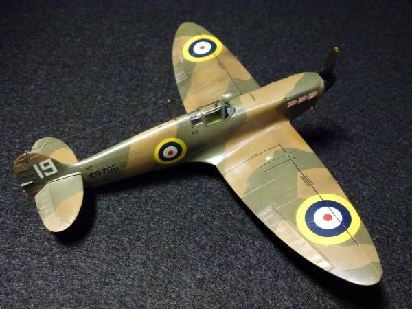 1/72 英空軍 スピットファイアMk.I