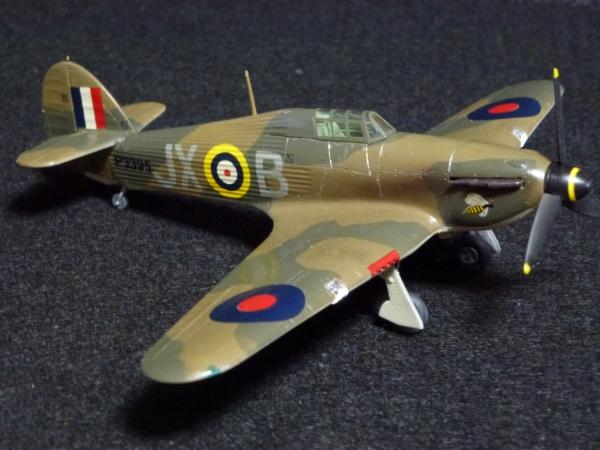 1/72 英空軍 ハリケーン Mk.I 後期型