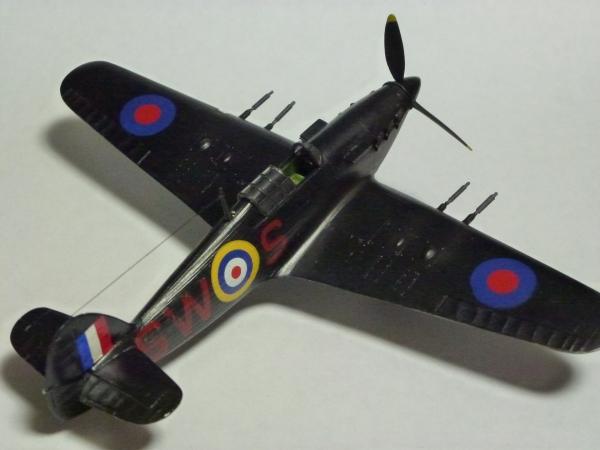 1/72 英空軍 ハリケーン Mk.IIC