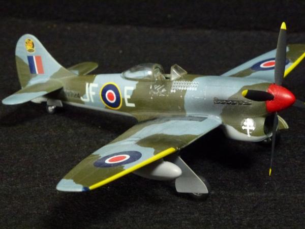1/72 英空軍 ホーカーテンペスト V