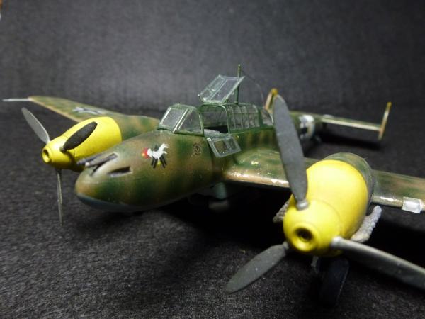 1/72 ドイツ空軍 メッサーシュミット Bf110E