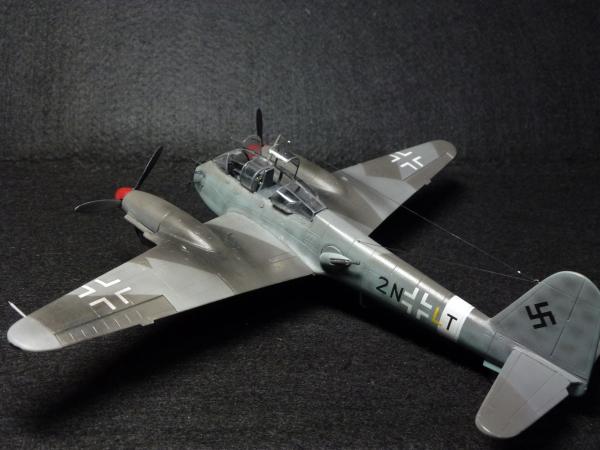 1/72 ドイツ空軍 メッサーシュミット Me210 A-1 NIGHTFIGHTER