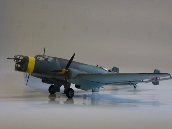 1/72 ドイツ空軍 ユンカースJU-86 D-1