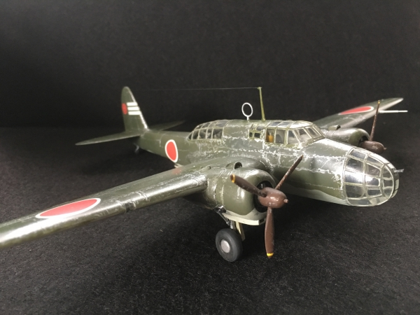 1/72 日本陸軍99式双発軽爆撃機