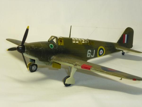 1/72 英海軍 Fairey Fulmar Mk.1