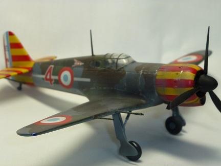 1/72  フランスビシー空軍 Block MB-155