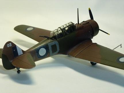 1/72 オーストラリア空軍 Commonwealth Mk.II CA-5 Wirraway