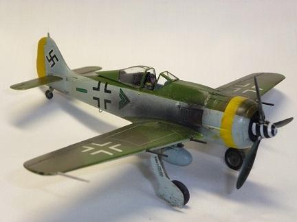 1/72 ドイツ空軍 フォッケウルフ Fw190 F8