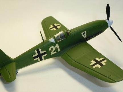 1/72 ドイツ空軍 ハインケル He100D