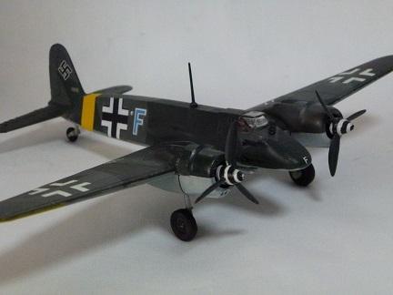 1/72 ドイツ空軍 ヘンシェル Hs129