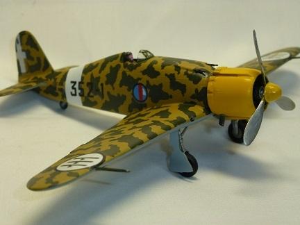 1/72  イタリア空軍 Fiat G50-bis FRECCIA