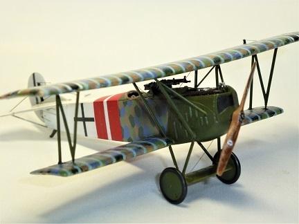 1/72 ドイツ航空隊 Fokker D.VII