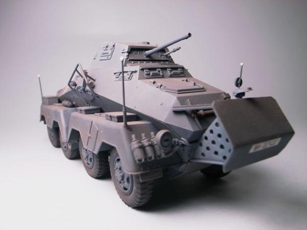 【田宮】ドイツ軍8輪重装甲車 Sdkfz232【1/35】