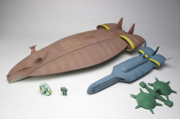 マッドアングラー級巨大潜水母艦【1/1200】