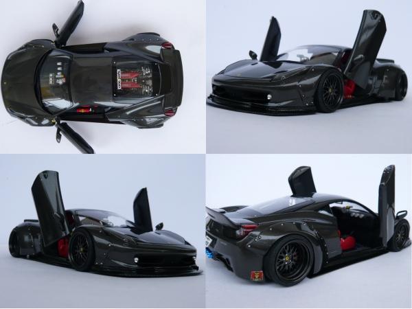 フェラーリ458 1/24サイズ