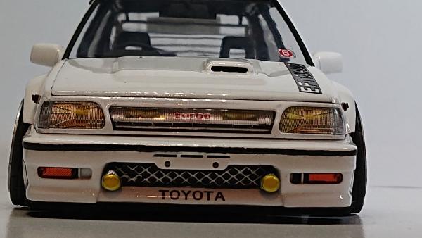 トヨタ スターレットEP71 1/24サイズ