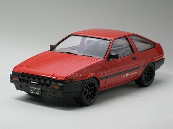 トヨタ スプリンタートレノ GTV '83 (AE86)