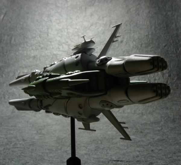 白色彗星帝国軍 駆逐艦 (準備稿版もどき) [2]