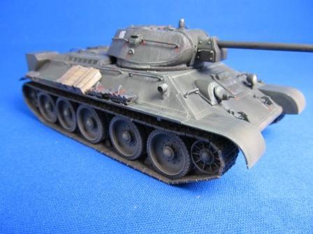 タミヤ ソビエト中戦車T34/76