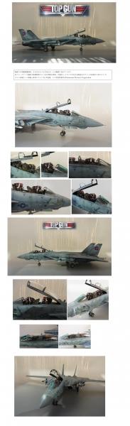 映画トップガン仕様 F14A topgun1/48tamiya
