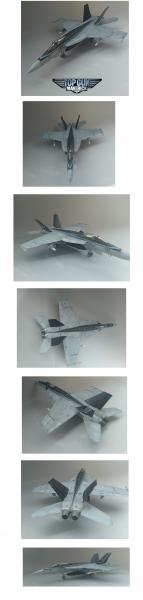 1/48 topgun2maveric仕様 F/A18E