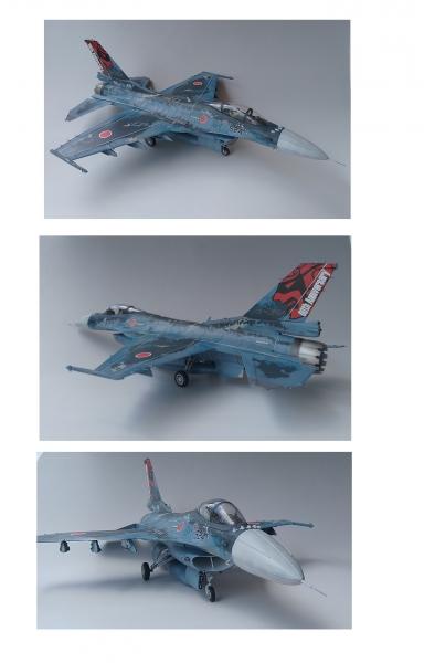 フルスクラッチ1/32 F-2A 3SQ60周年デジタル迷彩