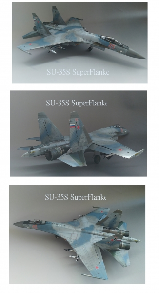 1./48 SU-35S スーパーフランカー