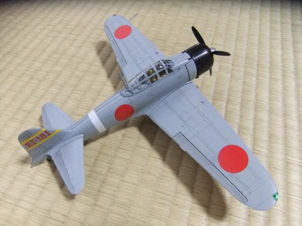 フジミ1/48 0式戦闘機