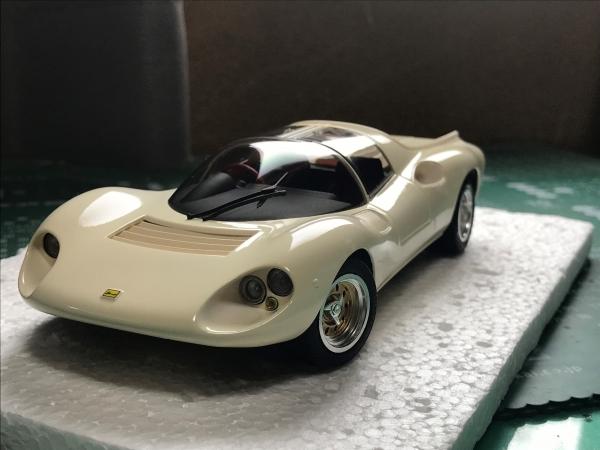 フェラーリ ディーノ206 コンペ