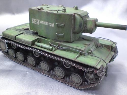 タミヤ 1/48 ソビエトKV-2重戦車 ギガント