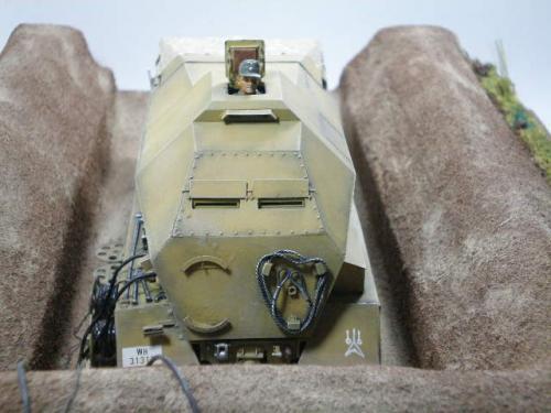 Sdkfz.7/3 発射管制装甲車