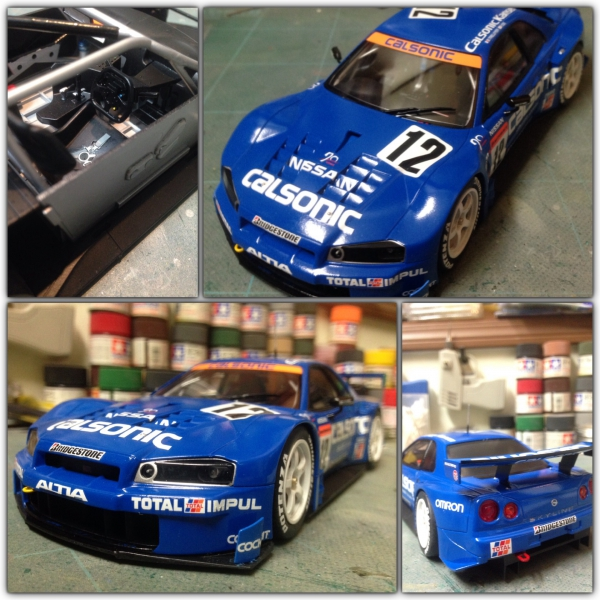 CALSONIC SKYLINE GT-R 2003