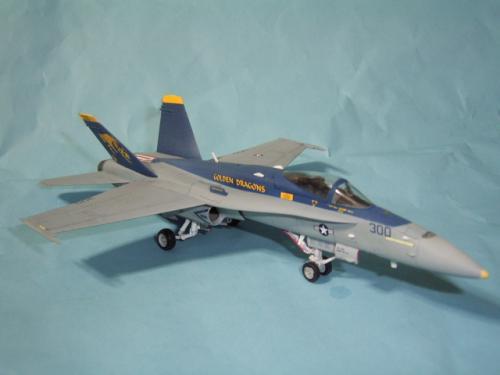 F/A-18C ホーネット VFA-192 ゴールデンドラゴンズ2007