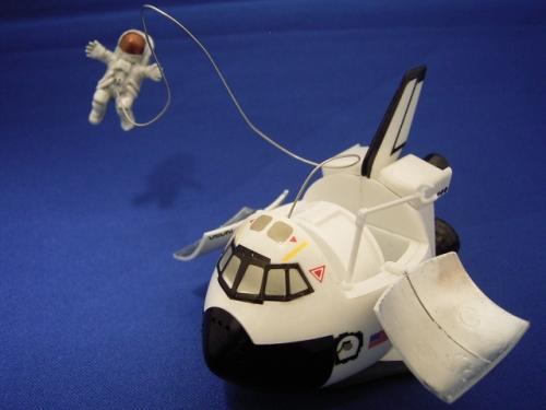 たまごひこーき スペースシャトル