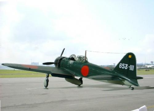 タミヤ 1/32 零戦52型