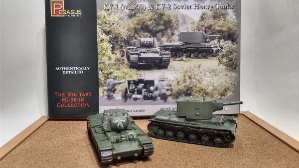 1/72 KV-1,KV-2 PegasusHobbies